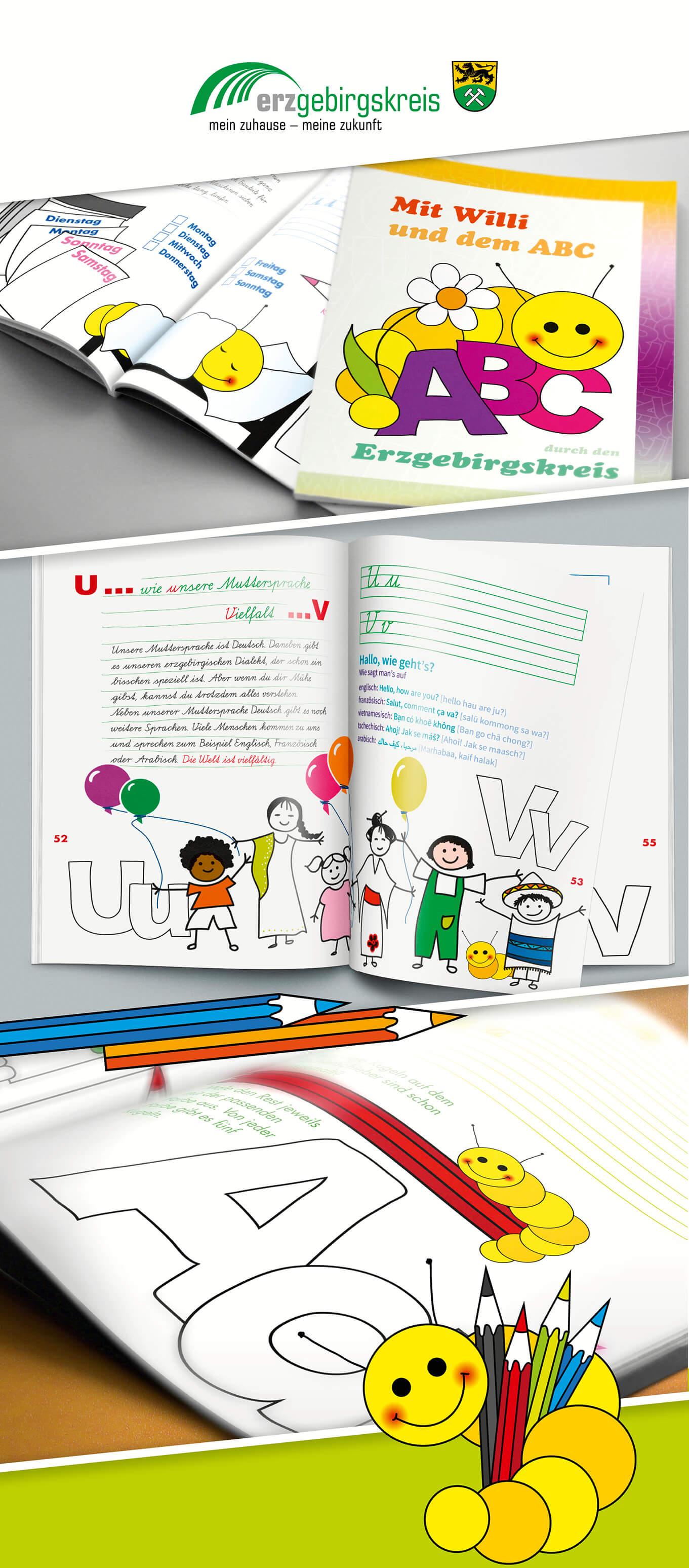Das ABC-Heft für Schulanfänger