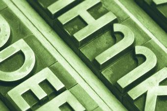 Es lebe die Typografie!